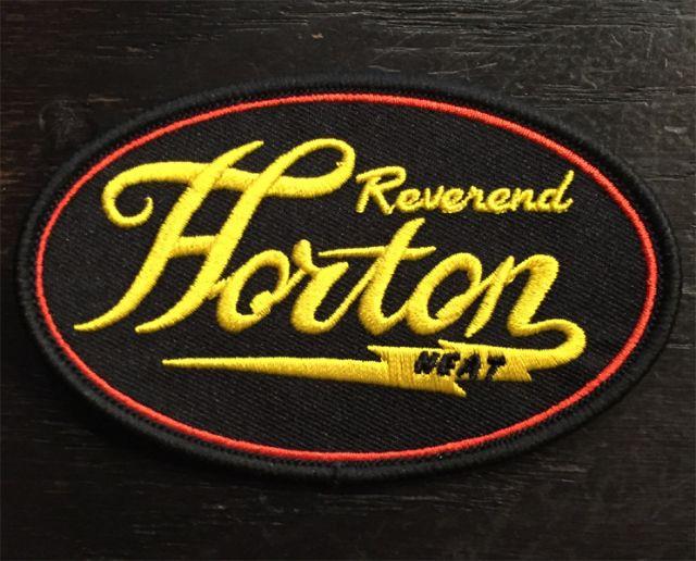 REVEREND HORTON HEAT 刺繍ワッペン