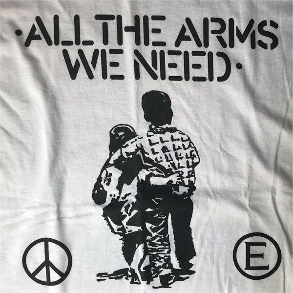 FLUX OF PINK INDIANS Tシャツ ALL THE ARMS WE NEED