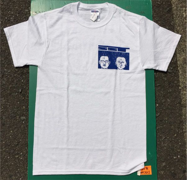 SST RECORDS Tシャツ CRACK IN THE SIDEWALK