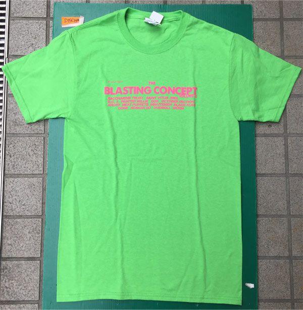 SST RECORDS Tシャツ BLASTING CONCEPT2