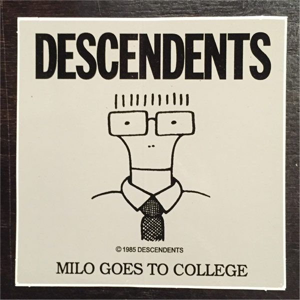 DESCENDENTS ステッカー MILO GOES TO COLLEGE