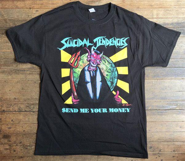 SUICIDAL TENDENCIES Tシャツ SEND ME YOUR MONEY