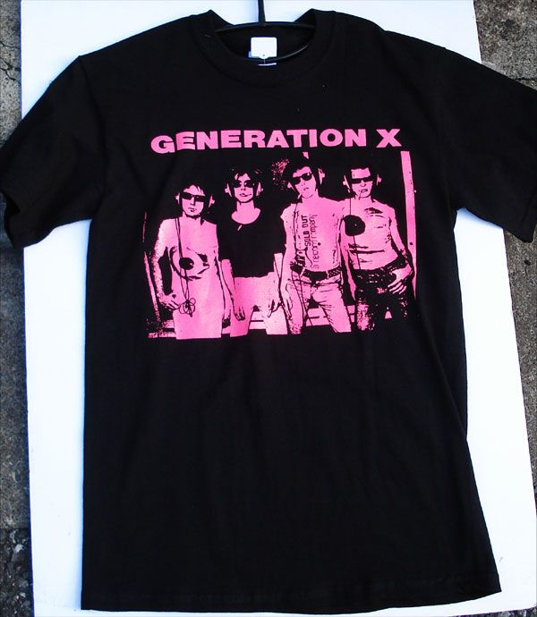 GENERATION X Tシャツ MEMBER