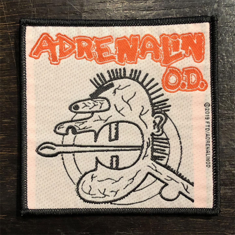 ADRENALIN O.D. 刺繍ワッペン