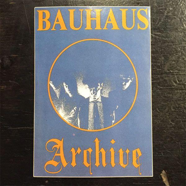 BAUHAUS ステッカー Archive