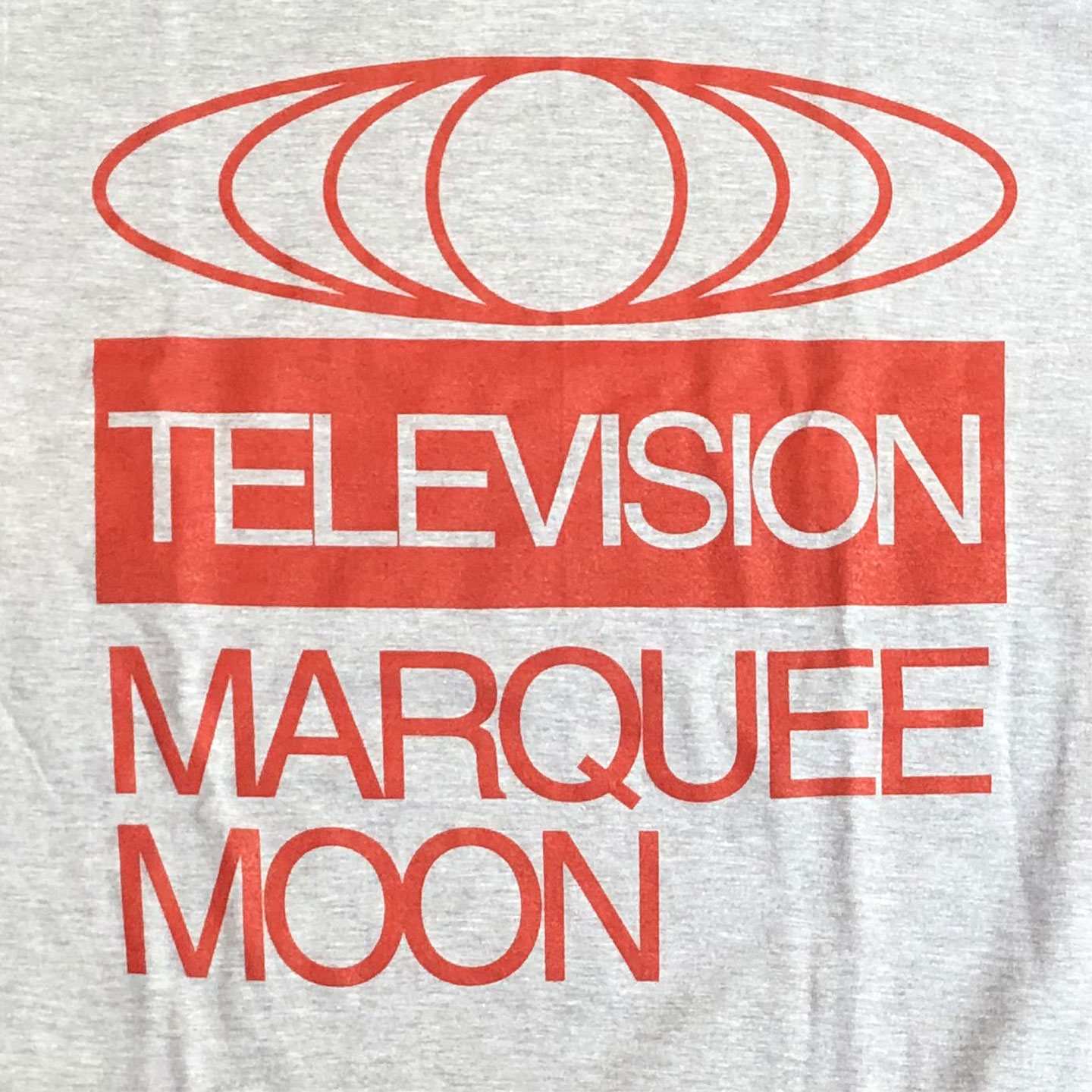 TELEVISION Tシャツ Marquee Moon