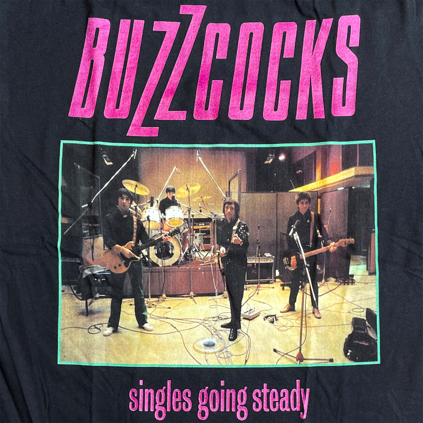 BUZZCOCKS Tシャツ Singles Going Steady