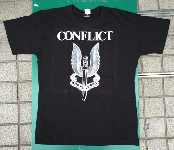 CONFLICT Tシャツ THE BATTLE CONTINUES2