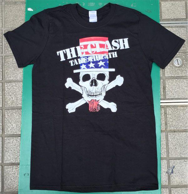 THE CLASH Tシャツ TAKE THE 5TH SKULL