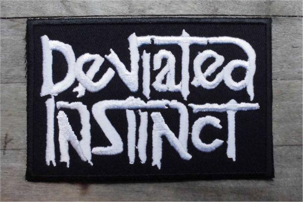 DEVIATED INSTINCT 刺繍ワッペン LOGO
