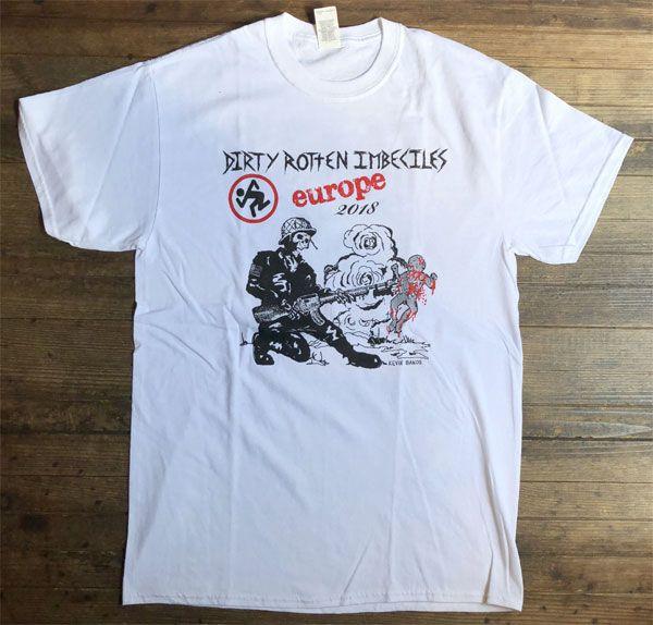 D.R.I. Tシャツ Violent Pacification EURO TOUR