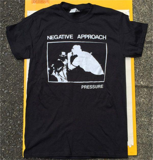 NEGATIVE APPROACH Tシャツ PRESSURE