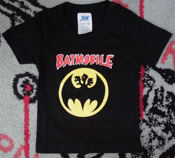 BATMOBILE キッズTシャツ