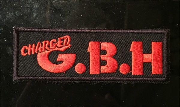 G.B.H 刺繍ワッペン LOGO2