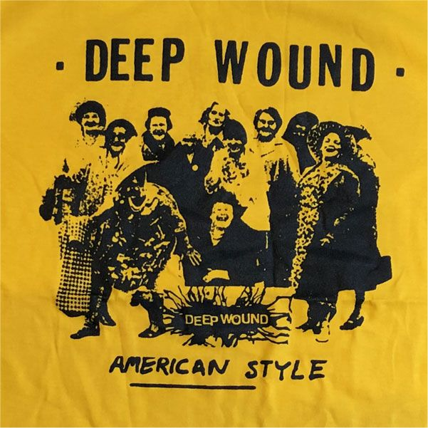 DEEP WOUND Tシャツ AMERICAN STYLE