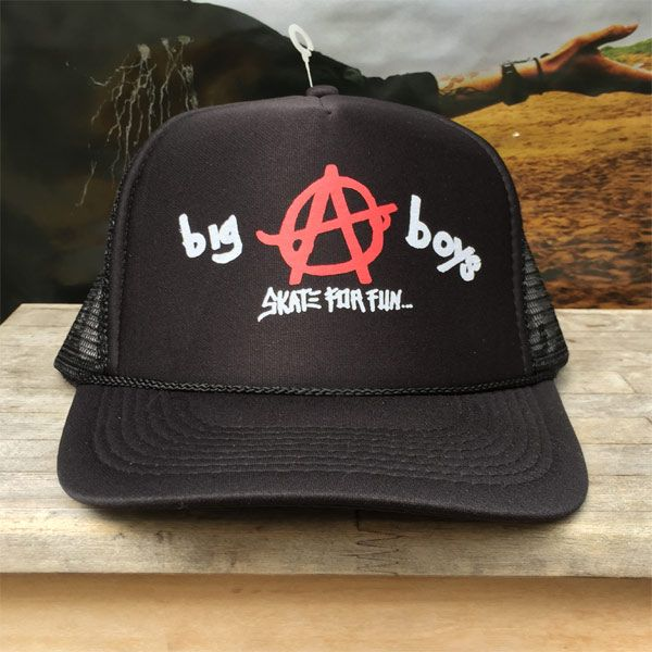 BIG BOYS メッシュCAP SKATE FOR FUN