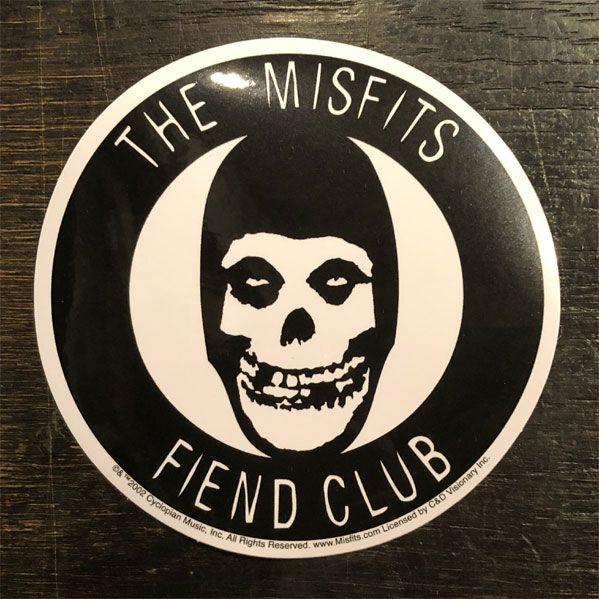 MISFITS ステッカー FIEND CLUB