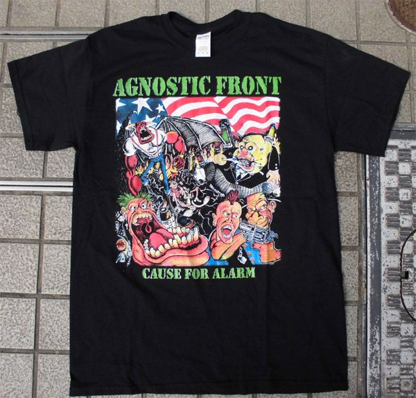 AGNOSTIC FRONT Tシャツ CAUSE FOR ALARM 3