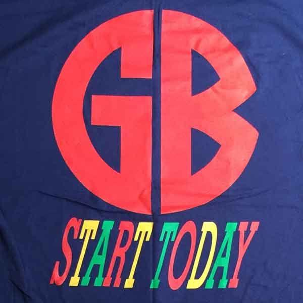 GORILLA BISCUITS Tシャツ START TODAY