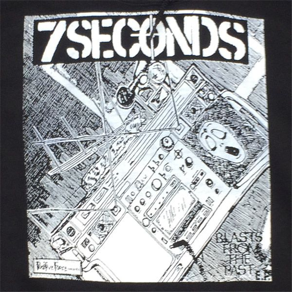 7SECONDS パーカー BLASTS FROM THE PAST