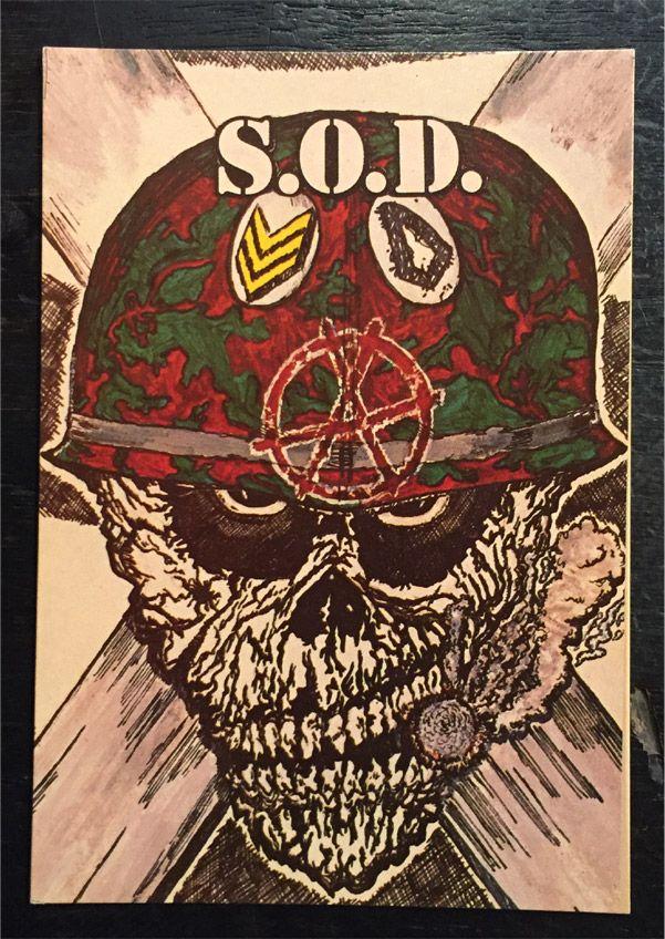 S.O.D. VINTAGEポストカード