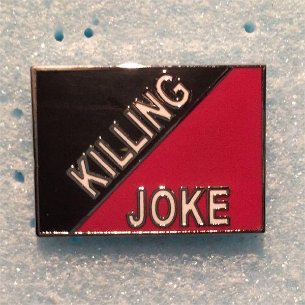 KILLING JOKE ピンバッジ LOGO
