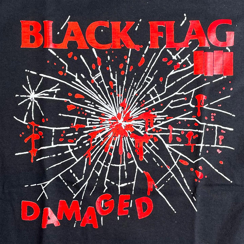 BLACK FLAG Tシャツ DAMAGED 3