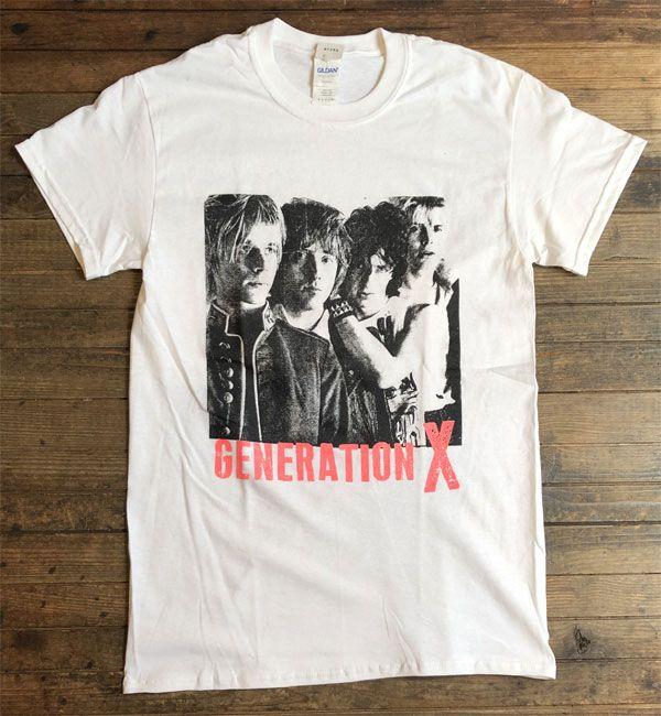 GENERATION X Tシャツ MEMBER PHOTO