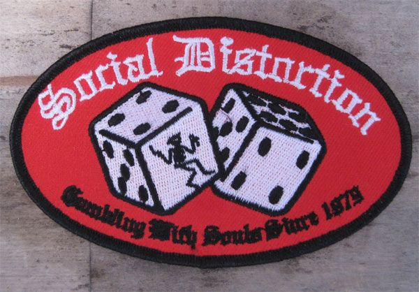 SOCIAL DISTORTION ワッペン DICE