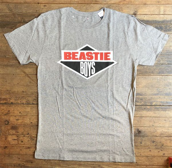 BEASTIE BOYS Tシャツ LOGO OFFICIAL