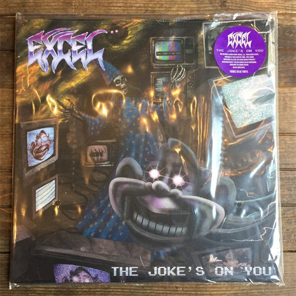 """Excel 12""""LP The Joke's On You"""