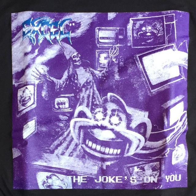 EXCEL Tシャツ THE JOKE'S ON YOU