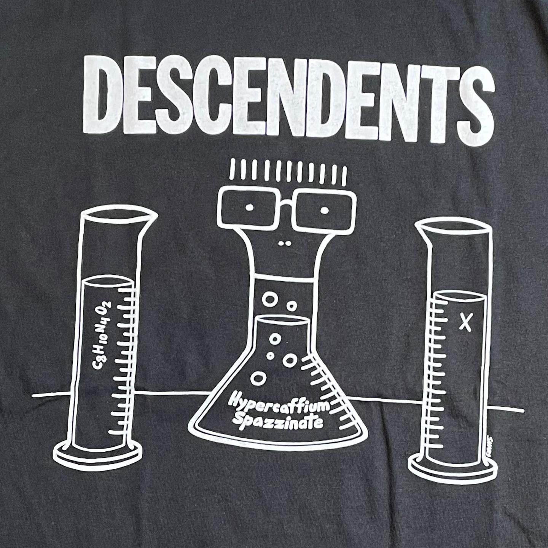 DESCENDENTS Tシャツ HYPERCAFFIUM SPAZZINATE オフィシャル