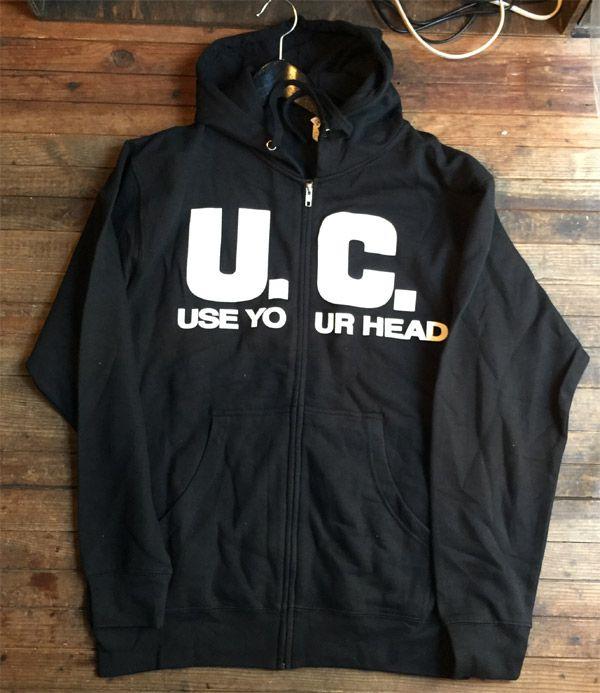 UNIFORM CHOICE ZIPパーカー USE YOUR HEAD オフィシャル!