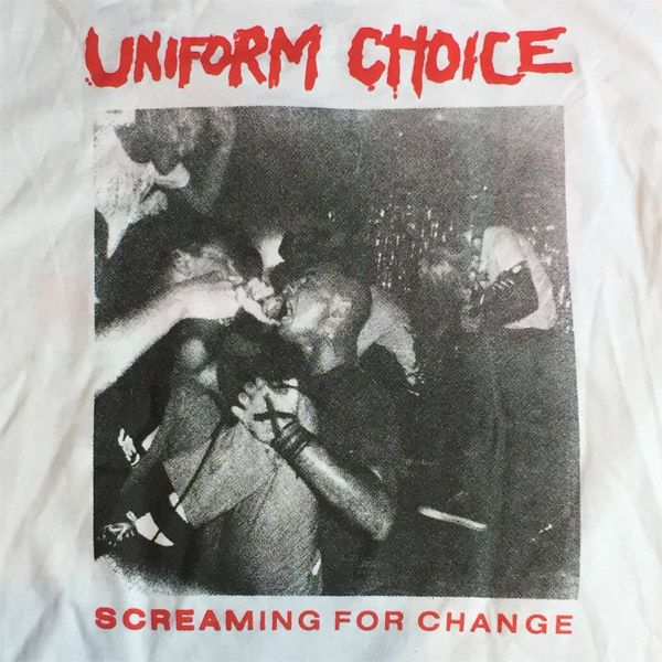 UNIFORM CHOICE Tシャツ SCREAMING FOR CHANGE OFFICIAL!