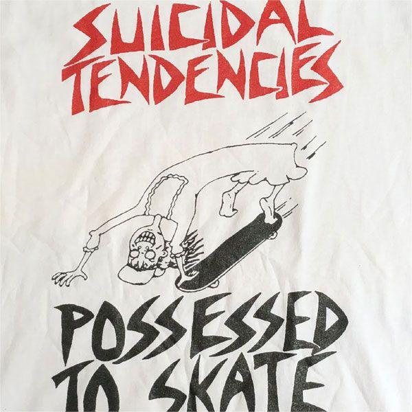 SUICIDAL TENDENCIES Tシャツ POSSESSED TO SKATE