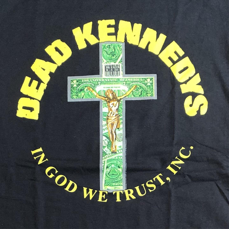 DEAD KENNEDYS Tシャツ IN GOD WE TRUST ,INC.