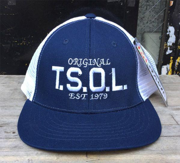 T.S.O.L. メッシュCAP LOGO