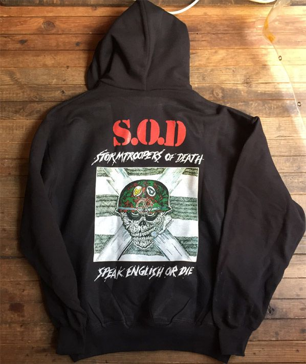 S.O.D. パーカー STORMTROOPERS OF DEATH