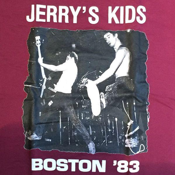 JERRY'S KIDS Tシャツ BOSTON83
