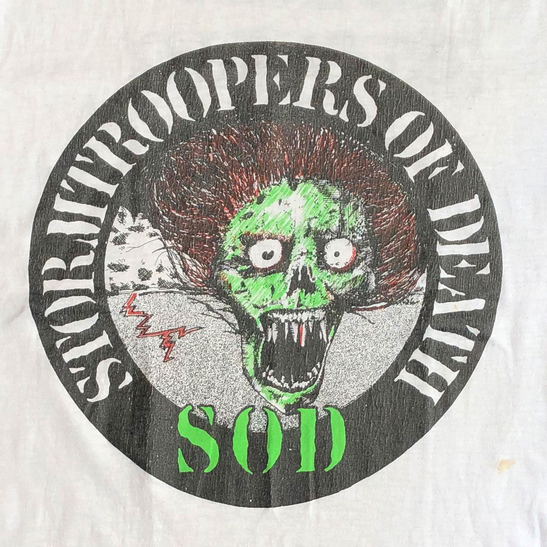VINTAGE! S.O.D. Tシャツ HEAD