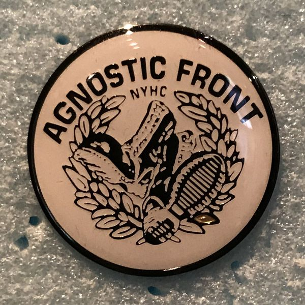 AGNOSTIC FRONT ピンバッジ BOOTS