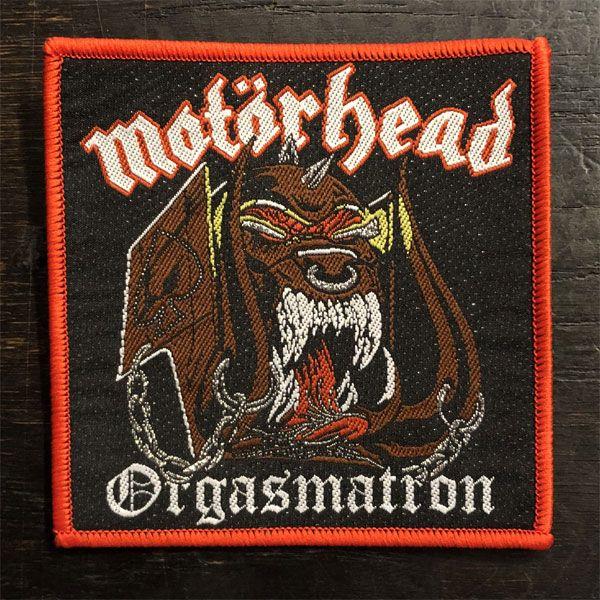 MOTORHEAD 刺繍ワッペン orgasmatron
