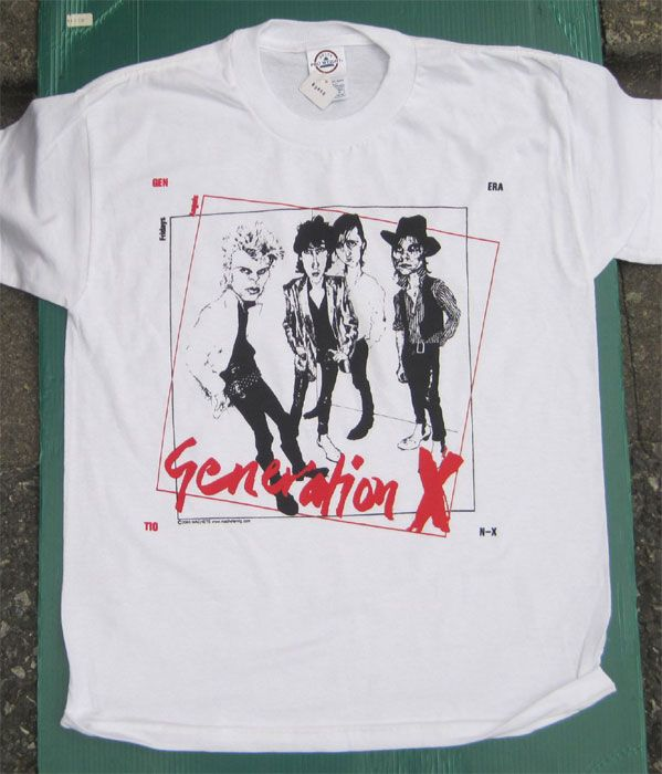 GENERATION X Tシャツ FRIDAY ANGELS