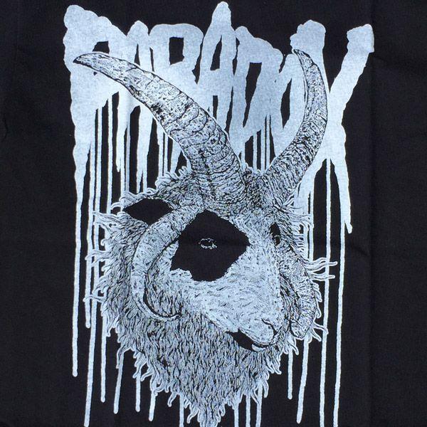PARADOX Tシャツ Jacob Ram BLACK