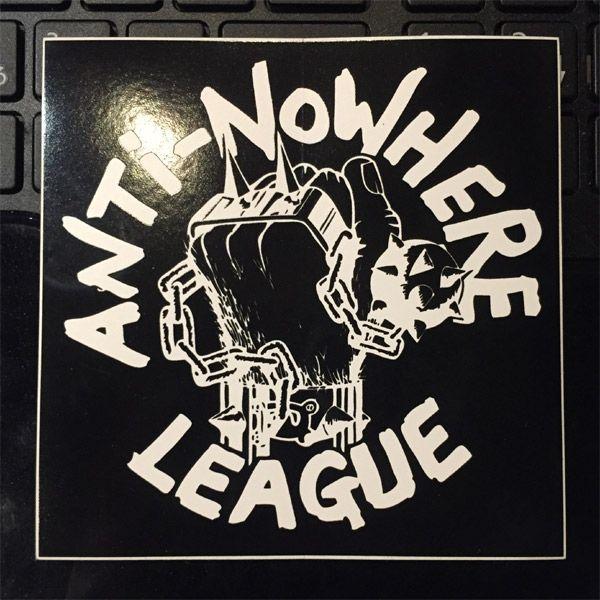 Anti-Nowhere League ステッカー LOGO