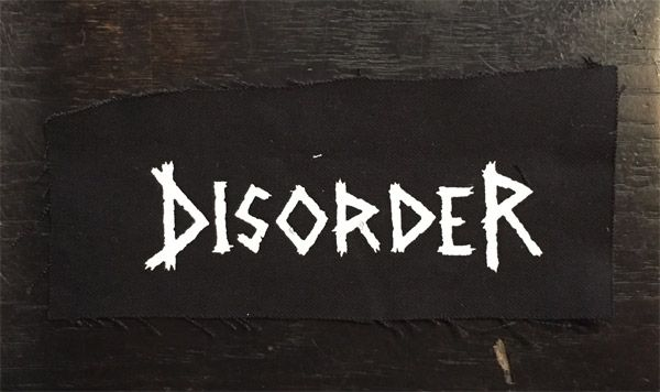 DISORDER PATCH LOGO