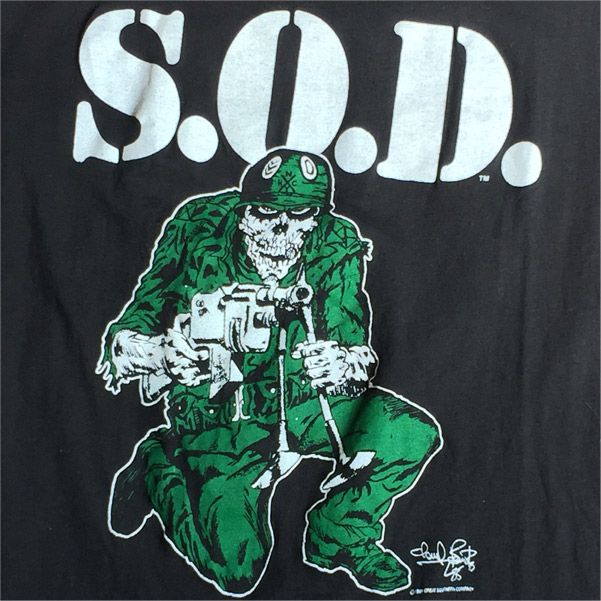 USED! S.O.D. Tシャツ SCHISM TOUR 85