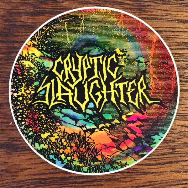 CRYPTIC SLAUGHTER ステッカー Circle