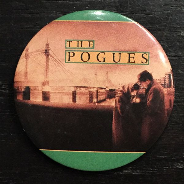 THE POGUES レアデカバッジ 2